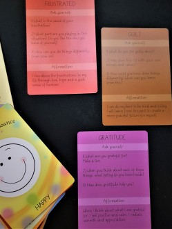mood cards reverse side